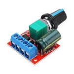 Оригинал 10Pcs DC 5V до постоянного тока 35V 5A 90W Mini DC Мотор PWM Регулятор скорости регулятора скорости Регулируемый модулятор модулятора электронного моду