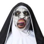 Оригинал Ужас The Nun Valak Маска Cosplay Halloween Маска Scary Creepy Face Маска Костюм