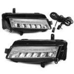 Оригинал Пара LED DRL Дневной свет Противотуманные фары Лампа Белый для VW Golf 7 MK7 2013-2017