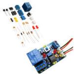 Оригинал DIY LM393 Модуль компаратора напряжения Набор с обратной защитой Стандарты Индикация Многофункциональная цепь компаратора напряжения 12 В