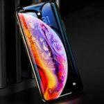 Оригинал Bakeey5Dизогнутыйкрайхолодныйрезьба экран протектор для iPhone XS Макс Анти Отпечаток отпечатков пальцев фильм