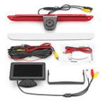 Оригинал Тормозной свет Задний реверс Авто камера + 4.3 дюймов Монитор для Mercedes Sprinter VW