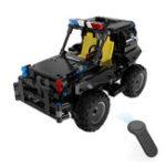 Оригинал MofunBB13005336PCS1/182.4G4CH Rc Авто DIY Сборка блоков Вооруженный патрульный автомобиль