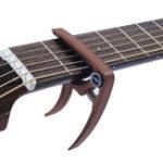 Оригинал Guitar Capo Wood Зерновой металл для гитары Uulele Tuning Beginners