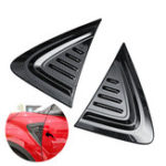 Оригинал Пара 3D Carbon Fiber Car Side Wing Air Vent Fender Обложка для обложки Декор для Toyota C-HR 17-18