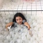 Оригинал 100Pcs Colorful Ball Soft Пластиковый океанский шар Baby Kid Swim Бассейн Pit Toy Пляжный Play Toys