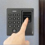 Оригинал Система контроля доступа в дверь Fingerprint RFID Card Reader Password 3 Way Замок Клавиатура управления