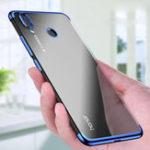 Оригинал BakeeyLuxuryUltraThinцветPlating Ударопрочный Soft ТПУ Защитный Чехол Для Huawei Honor8X