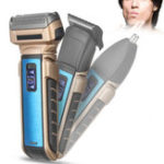 Оригинал 3 IN 1 Multi Smart Shaver Триммер Двухсторонний Fat Faced Floating Electric Бритва