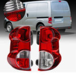 Оригинал Левый / правый красный Авто Задний хвостовой фонарь Shell Brake Лампа Обложка для NISSAN NV200 2009-2013