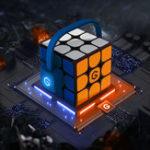 Оригинал Xiaomi Giiker i3s AI Интеллектуальный супер Cube Smart Волшебный Магнитный Bluetooth APP Sync Puzzle Toys