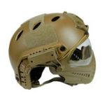 Оригинал WoSporT Тактический шлем с защитой Маска мотоцикл Охотничья верховая езда На открытом воздухе CS Army