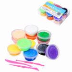 Оригинал 12PCS / Lot Candyfloss Fluffy Floam Slime Clay Putty Stress Сбросить Kids Gag Игрушечный подарок с упаковкой Коробка