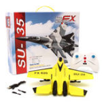 Оригинал SU-35 Вертолет Самолет Планер Игрушечный планер EPP Foam 3.5CH Toys