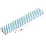 Оригинал 10шт 6-миллиметровый кабель для кабеля из стекловолокна Провод Кабельная коаксиальная электрическая лента для рывок Pull Push Набор