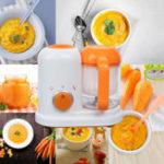 Оригинал Электрический чайник для новорожденных Масло для малышей Безопасный здоровый паровой процессор BPA Free