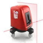 Оригинал A8826D AK435 Лазер Уровень 2 Красная линия 1 Точка 360 градусов Ротационная самонивелирующаяся нивель Лазер Диагностические инструменты