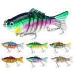 Оригинал ZANLUREXY-2385pcs/set15.6g 10cm 7 секция Swimbait Hard Bait Рыбалка Lure Isca Искусственные приманки