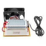 Оригинал 220v 10g Керамический Генератор озона DIY Керамический Пластина Воздухоочиститель Стерилизатор с вентилятором