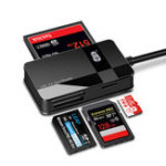 Оригинал Kawau C368 Все-в-одном USB 3.0 SD / TF / CF / MS Кард-ридер Поддержка 512G Memory Card
