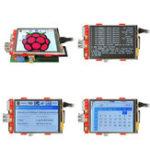 Оригинал 3.2Inch 320×240 Разрешение TFT LCD Сенсорный экран для Raspberry Pi 3 Model B/2 Model B/B+