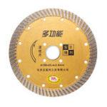 Оригинал 6 дюймов Сегментированный алмазный алмазный турбопильный пильный диск для резки гранитного бетонного камня