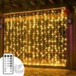 Оригинал ARILUX® 3 * 3M USB-занавес для созвездия сосульки с режимом таймера для На открытом воздухе Рождественский домашний декор