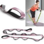 Оригинал KALOADNylon2м2.45м Yoga Фитнес Сопротивление диапазонов тренировочных полос растяжек Yoga Ремни