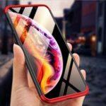 Оригинал Bakeey™3in1Double Dip 360 ° Hard ПК Protective Чехол для iPhone XS