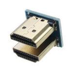 Оригинал 5Pcs HDMI 1.4 Двухстороннее вращение Присоединительный адаптер
