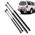 Оригинал 4Pcs Авто Задняя крышка багажного отсека для задних окон Газовая стойка для подъема хвоста для Nissan Pathfinder R51 2005-2012