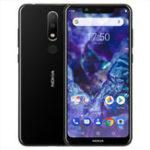 Оригинал NOKIAX55.89inchAndroid8.1 Отпечаток пальца 3GB RAM 32GB ПЗУ Helio P60 Octa Core 4G Смартфон