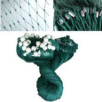 Оригинал 2x10M / 3x20M Рыбалка Drag Net Handmade Пляжный Seine Monofilament Fish Cast Mesh Sinker Gill Trap