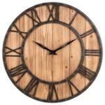 Оригинал LoskiiCreativeRoundБесшумныйДеревянныестены Часы Декоративные Часы для гостиной Домашние декорации