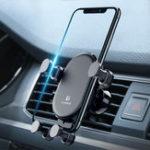 Оригинал FLOVEMEАвтоДержательдлятелефонаAir Vent Mount Gravity Auto Замок Вращение на 360 ° для iPhone XS Max / Xiaomi