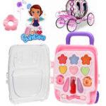 Оригинал Mini Чемодан Princess Pretend Макияж Набор Набор для девочек