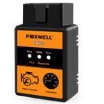 Оригинал FOXWELL FW102 V1.5 ELM327 Code Reader Авто Поддержка диагностического сканера Bluetooth