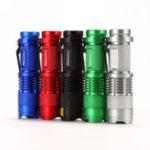 Оригинал AloneFireSK68XPEQ53ModesZoomable Tactical Mini LED Фонарик AA Батарея