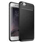Оригинал BakeeyЗащитныйЧехолДляiPhone6/6s Тонкий Углеродное волокно Отпечаток пальца Soft ТПУ задняя крышка