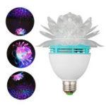 Оригинал E27 3W Crystal Ball Night Stage Light laser LED Вращающийся Лампа Bulb Party Disco DJ Bar