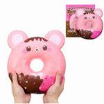 Оригинал Puni Maru 50см Огромный Squishy гигантский шоколадный пончик Jumbo медленно растущая игрушка с упаковкой Коробка