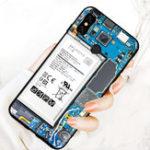 Оригинал BakeeyДовольноБатареяКартинаСиликоновыйSoft ТПУ Назад Защитная Чехол Для Xiaomi Redmi Note 5
