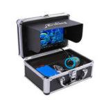 Оригинал Erchang7inchLCDЭкран1000TVLПодводный HD камера 24LEDs Лампа Видимый Fish Finder 15M