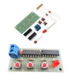 Оригинал 3шт DIY Модуль для голосования трех человек Набор DIY Электронное производство Набор 74HC00 + 74HC10