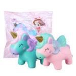Оригинал Unicorn Squishy Jumbo Animal Slow Rising Soft Коллекция подарков для подарков с упаковкой 12 * 10 см