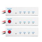 Оригинал 3S/4S / 5S Литиево-литиевый литий-ионный LiPo Батарея Литиевый преобразователь 5-ти уровневый индикатор