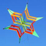 Оригинал 3D Colorful Цветочный кайт одной линии На открытом воздухе спортивные игрушки светлый ветер Flying Kids