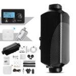 Оригинал 5KW 12V Air Дизельное топливо Нагреватель Автомобиль Нагреватель LCD Монитор Глушитель Танк Дистанционное Управление Термостат