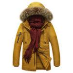 Оригинал Plus Размер Толстый теплый ветрозащитный колпак Зима На открытом воздухе Parka