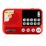 Оригинал NINTAUSE S99A Mini FM Pocket Stereo Радио Часы MP3-плеер с шагомерным динамиком